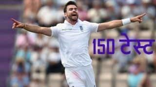 150 टेस्ट खेलने वाले पहले गेंदबाज बने जेम्स एंडरसन