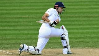 Alastair Cook becomes England's leading run-scorer in Tests against India