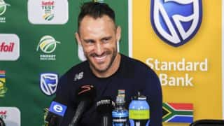 Faf du Plessis: Learnt my lesson by asking for quick wickets
