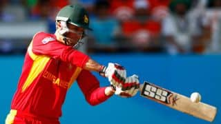 Craig Ervine's 73 propels Zimbabwe to 253 against Afghanistan in 2nd ODI at Sharjah