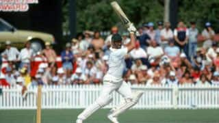 When Dennis Lillee lost his wicket to Dennis Lillie
