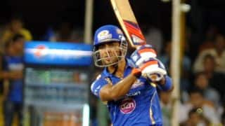 Mumbai Indians vs Chennai Super Kings Live Cricket Score IPL 2015: Match 12 at Mumbai