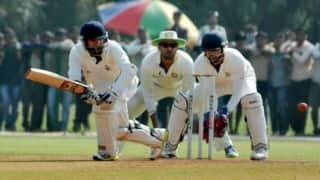 Ranji Trophy 2013-14 quarter-finals: Punjab close in on victory over Jammu and Kashmir