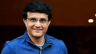 Sourav Ganguly unveils own bronze statue in Kolkata