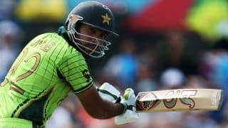 Pakistan vs South Africa in ICC Cricket World Cup 2015: Kyle Abbott strikes to remove Sohaib Maqsood