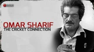 Omar Sharif: The cricket connection