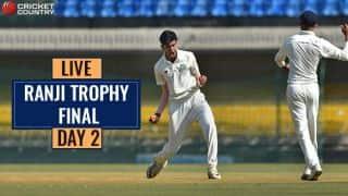 Live Cricket Score: Ranji Trophy Final 2017-18, Delhi vs Vidarbha, Day 2