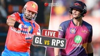Highlights IPL 2017 Score, GL vs RPS IPL 10, Match 13: GL win by 7 wickets