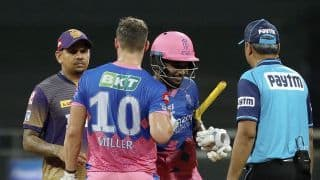 IPL 2021 RR vs KKR Match Highlights in Pictures: Clinical Rajasthan Royals Beat Kolkata Knight Riders by 6 Wickets