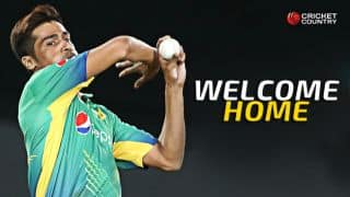 Welcome home, Mohammad Aamer