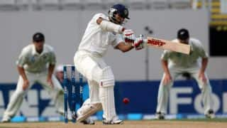 India vs New Zealand, 1st Test, Day 4: Shikhar Dhawan departs for 115; score 255/4