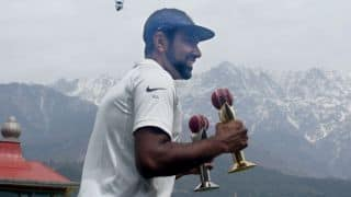 India vs Australia: Ravichandran Ashwin receives the Garfield Sobers Trophy