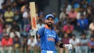 Virat Kohli equals Ricky Ponting; behind only Sachin Tendulkar