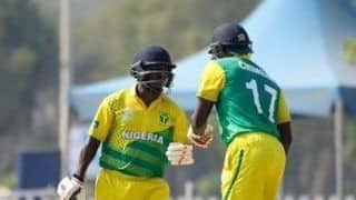 Dream11 Team Hong Kong vs Nigeria ICC Men's T20 World Cup Qualifiers – Cricket Prediction Tips For Today's T20 Match 39 Group B HK vs NIG at Abu Dhabi