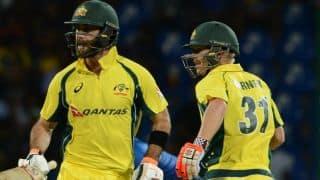 Warner hails Maxwell's comeback for Australia