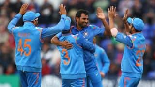 India vs England Live Cricket Score 2nd ODI at Cardiff: India win by 113 runs by D/L method