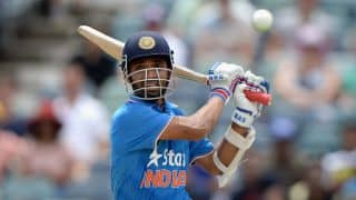 India vs Australia ICC Cricket World Cup 2015 warm-up match at Adelaide: Ajinkya Rahane out for 66