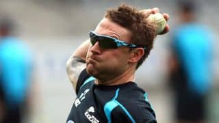 Brendon McCullum praises Kane Williamson's consistency