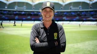 Claire Polosak: History-making Australian is first female umpire in men's ODI