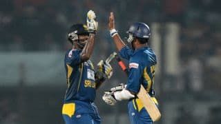 Sri Lanka win toss, elect to bat against Bangladesh in 2nd ODI at Dhaka