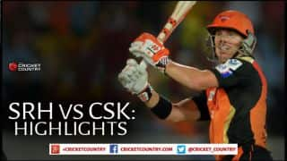 Sunrisers Hyderabad vs Chennai Super Kings, IPL 2015 Match 34 Highlights: David Warner's bombardment, SRH's magic in the field, and more