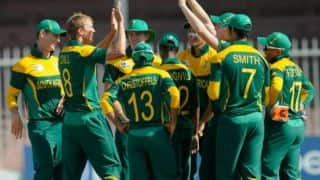 Australia vs South Africa Under-19 World Cup semi-final: Australia struggle at 40/3 in 11 overs