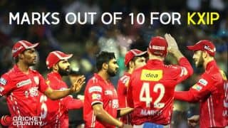 IPL 2017: Kings XI Punjab's (KXIP) marks out of 10