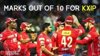 IPL 2017: Kings XI Punjab's (KXIP) marks out of 10