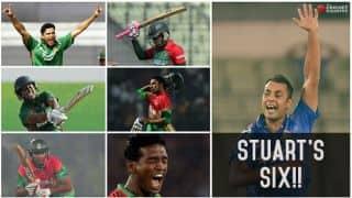 Stuart Binny's six-wicket haul: A look at each of the dismissals