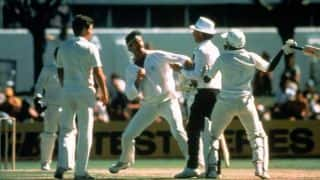 Infamous on-field spats in cricket history