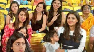 आईपीएल में प्लेयर्स ही नहीं उनकी पत्नियां और क्यूट बच्चे भी बटोर रहे हैं सुर्खियां