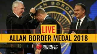 Allan Border Medal 2018, Live Updates: Steven Smith wins Allan Border Medal