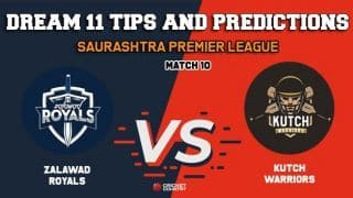 Dream11 Prediction: ZR vs KW Team Best Players to Pick for Today's Match 10, SPL 2019 between Zalawad Royals and Kutch Warriors at 7:30 PM