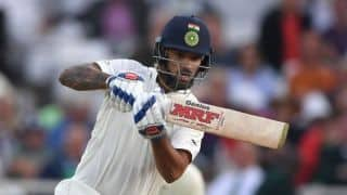 India vs England, 3rd Test: Shikhar Dhawan first Indian opener since 1952 to be out stumped in England