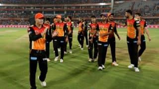 David Warner, Manan Vohra's knocks, Bhuvneshwar Kumar's fifer and other highlights from SRH vs KXIP, IPL 2017, match 19