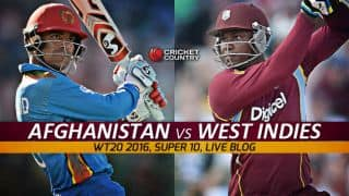 WI 117/7 | Overs 20 | Live Cricket Score West Indies vs Afghanistan, T20 World Cup 2016, 30th Match at Nagpur: Afghanistan edge past West Indies by 6 runs