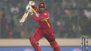 Sri Lanka vs West Indies Live Scorecard ICC World T20 2014 1st semi-final at Dhaka