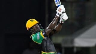 CPL 2018: Rovman Powell & Ross Taylor hit half centuries, Jamaica Tallawahs beat Guyana Amazon Warriors by 8 wickets