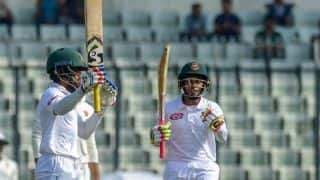 2nd Test, Day 1: Mominul Haque and Mushfiqur Rahim's record partnership put Bangladesh in command against Zimbabwe