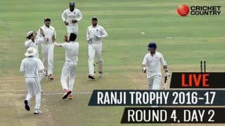 LIVE Cricket Score Ranji Trophy 2016-17, Day 2, Round 4- Himachal Pradesh bundle out for 36