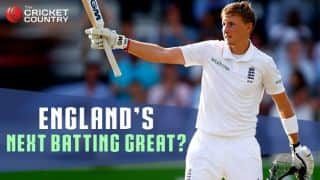 Joe Root shows aptitude to lead England batting in future