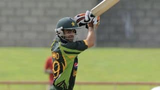 Ahmed Shehzad, Mohammad Hafeez help Pakistan post 201-5 against Bangladesh in Match 14 of ICC T20 World Cup at Kolkata