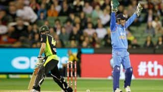 MS Dhoni surpasses Kumar Sangakkara to register most stumpings in international cricket