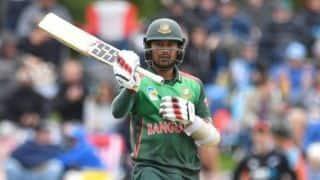 2nd ODI: Mithun fifty takes Bangladesh to 226