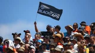 ICC Cricket World Cup 2015: Australia's collapse against New Zealand sparks festivities at Eden Park
