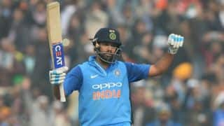 Rohit Sharma slams double-century; cricket fraternity congratulates 'Hitman' on Twitter