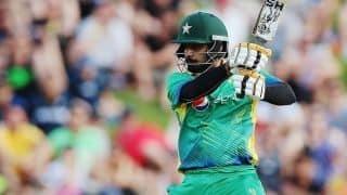 Mohammad Hafeez's unique T20 International 'double'