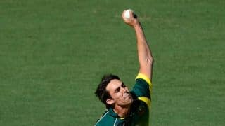 Mitchell Johnson buoyed by performance in Zimbabwe triangular series