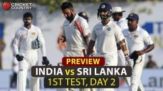 India Men vs Sri Lanka Men, 1st Test, Day 2: More runs on the card for the visitors
