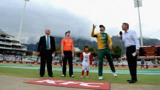 South Africa vs England 2015-16, 1st T20I at Cape Town